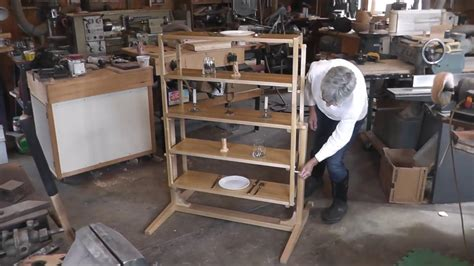 table converts to shelf table that converts to a shelf unit