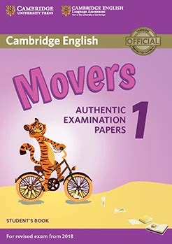 descargar pdf cambridge english movers 1 for revised exam from 2018 students book authentic examination papers cambridge young learners engli libro world of fun movers