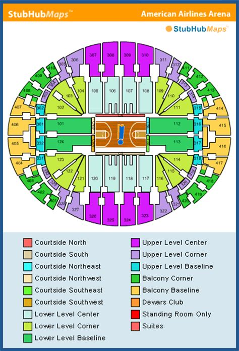 miami heat stadium seating capacity americanairlines arena seating chart pictures directions