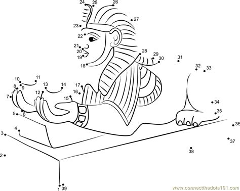 printable egyptian art egyptian art dot to dot printable worksheet