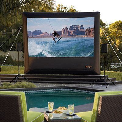 backyard projector screen 1000 ideas about projector screens on pinterest home