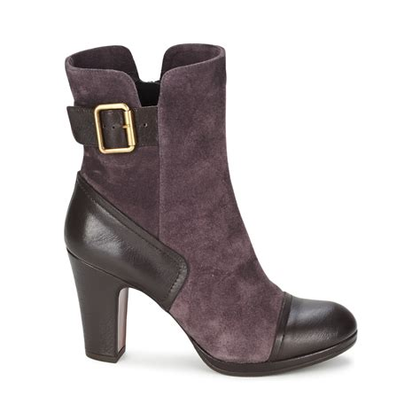 chie mihara ankle boots boots costa grey mihara423687