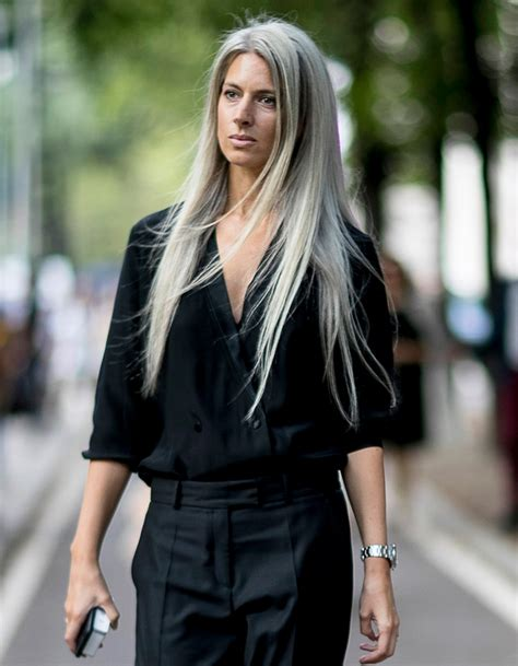Coupe De Cheveux 2017 by Cheveux Longs Blond Glac 233 Printemps 233 T 233 2017 Coiffure