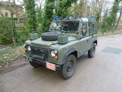 land rover mod l14 oaa 1994 land rover defender x mod bomb disposal