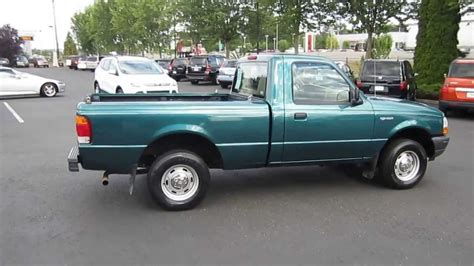 98 Ford Ranger by 1998 Ford Ranger Green Stock 731039