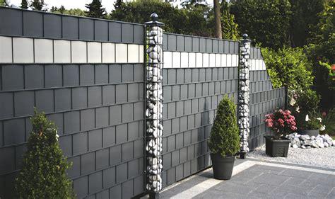 Terrasse Zaun Modern by Sichtschutz T 252 R Garten Einzigartig Gartenzaun Mit Gabionen