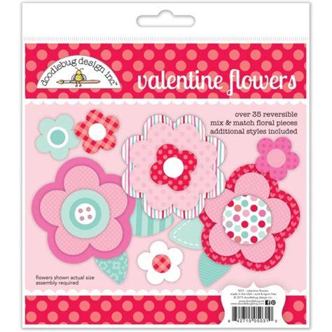 doodlebug valentines flower crafts