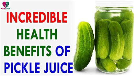 Does Pickle Juice Detox Your by 7 Health Benefits Of Pickle Juice Health