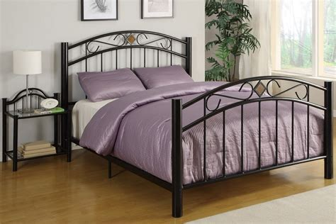 bed frame stands queen size roman arch frame diamond motif bed frame night stand