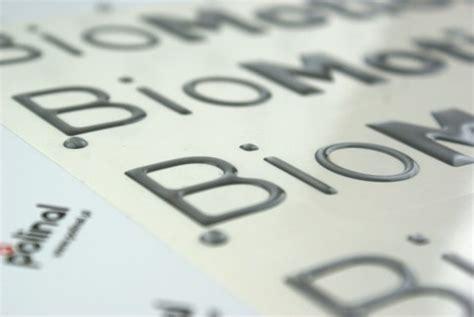 3d Aufkleber Anfertigen by 3d Doming Etiketten Buchstaben