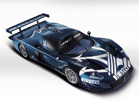 maserati mc12 blue cars konk maserati mc12 cars