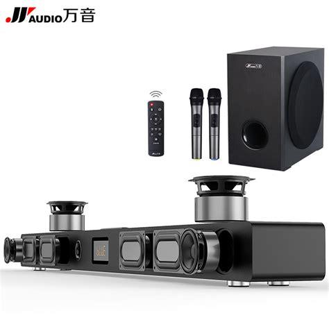 jy audio soundbar column home theater dts  virtual