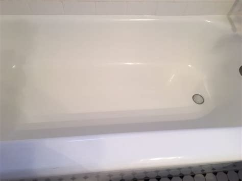 miracle bathtub refinishing after hallelujah completely dried and textured and clean