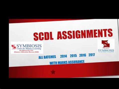 Scdl Mba by Scdl Assignments 2016 2017 Scdl Project Report Scdl Mba