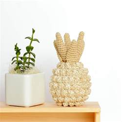 Pineapple Home Decor Pineapple Home Decor Crochet Pineapple Decor Pineapple By