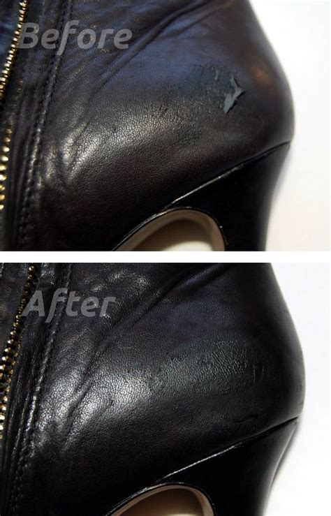 Leather Tear Repair by How To Repair Leather Heels And Leather Repair On