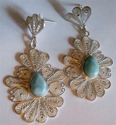 Handmade Filigree Jewelry - helena voigt handmade larimar filigree jewelry diamonds