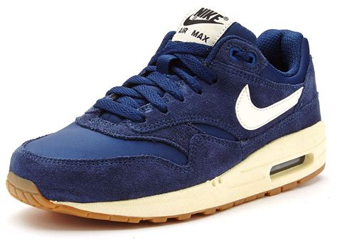 nike air max 1 gs suede trainers navy blue 555766 404 ebay