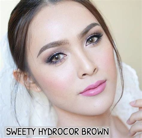 Diskon Pony Browm By Sweety sweety hydrocor brown colored eye lens bbbeautycontact
