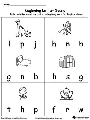 printable letters and sounds worksheets letter sound worksheets kindergarten free thanksgiving