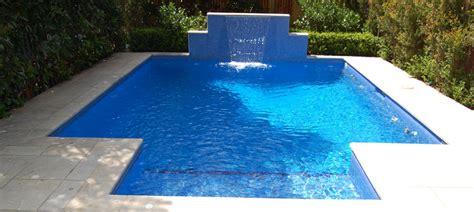 small pool design tiled plunge pool design space landscape designs