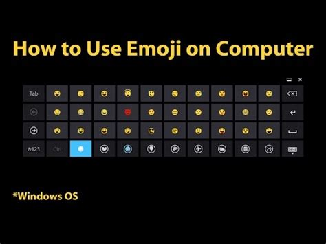 tutorial emoji keyboard full download how to type computer emoticons using a numpad