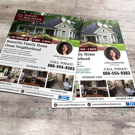 12 best photos of home real estate listing brochure real estate