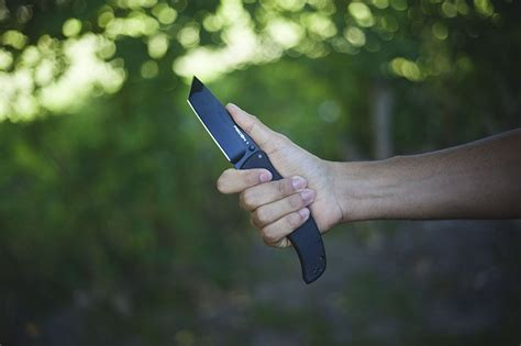 Kitchen Knives For Carpal Tunnel Cold Steel Recon 1 Tanto Blade Edc Knife Review