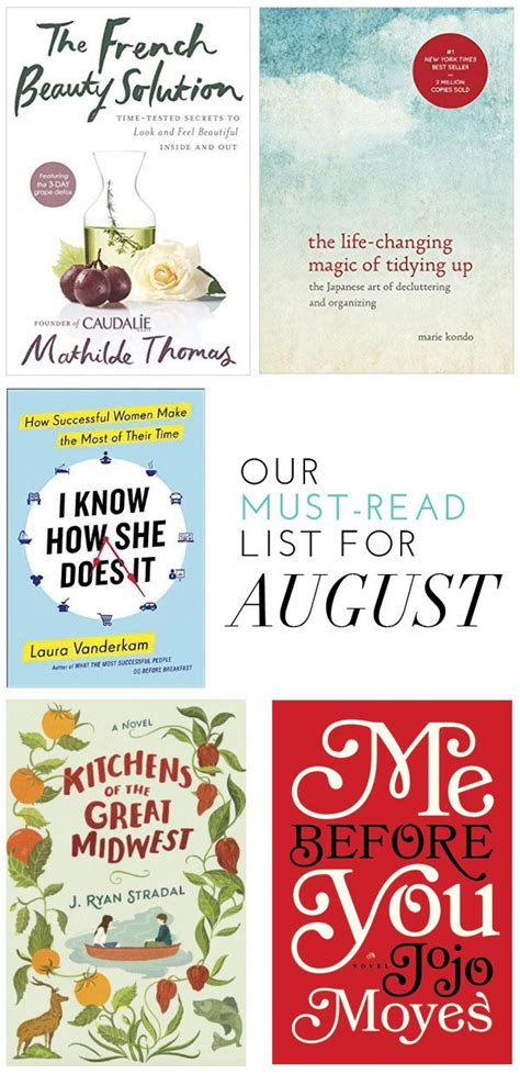 the must guide a listed our must read list for august glitter guide