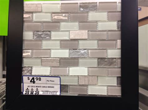 backsplash tile at lowes for the home pinterest