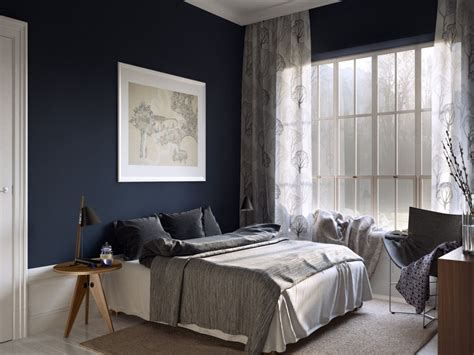 dark blue paint for bedroom images of bed room paint in dark blue colors home combo