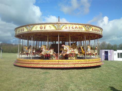 steam carousel for hire traditional funfair attractions