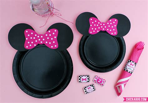 Miki Studed White Ear Pink 8 best images of minnie mouse ears printable free