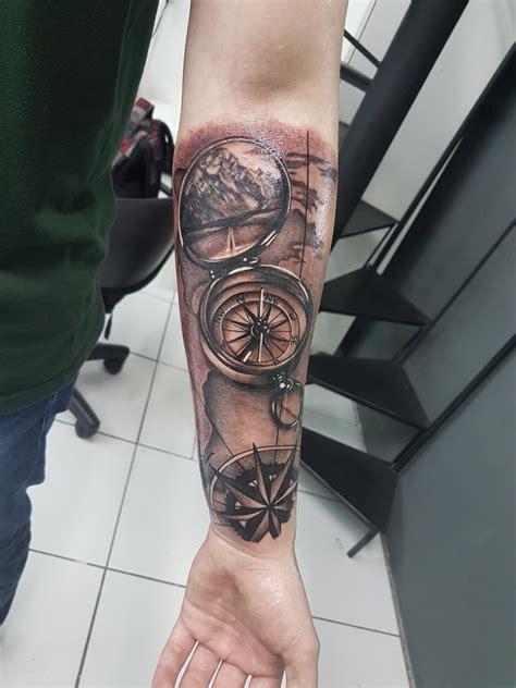 Tatuagem Mapa E B 250 Ssola Tattoo Tatuagem Bussola Maps Tatto Bussola