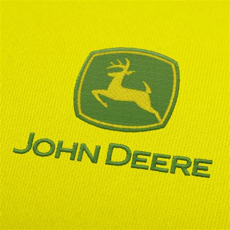 deere logo 3 embroidery design