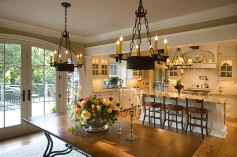 Open Kitchen Dining Room Designs Give Me Marvellous Home Has Been Designed In A And Classical Norman Style