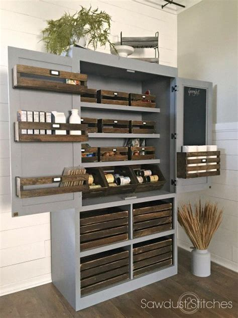 free standing kitchen ideas build a freestanding pantry diy projects for everyone