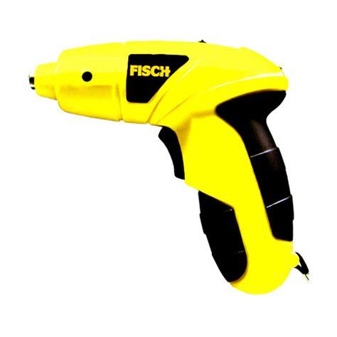 Bor Portable jual fisch ts601200 cordless screwdriver mesin obeng bor