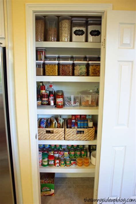kitchen closet organization ideas organize small pantry on pinterest small pantry black