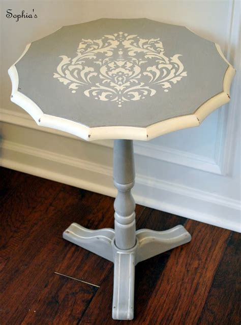 Stenciling Furniture by Stenciled Painted Furniture