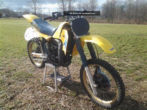 1984 Suzuki 125 Four Wheeler 1984 Suzuki Rm125 Cr Kx Yz 125 Crf Mx Oem Vintage