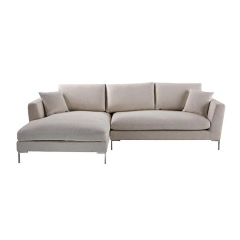 sofa upholstery dublin 5 seat corner sofa in ecru dublin dublin maisons du monde