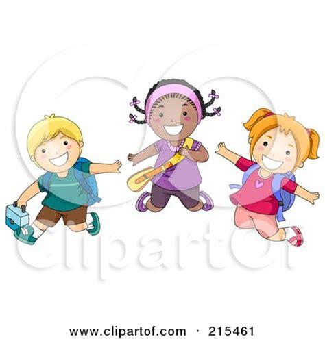 troline clipart child hopping clipart