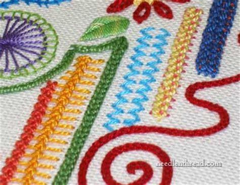 Handmade Embroidery Stitches - 6 points to consider about embroidery needlenthread