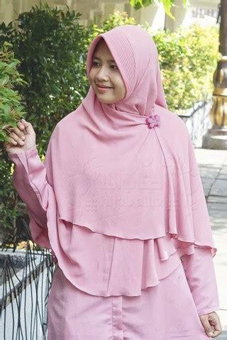 Syar I Alila Khimar Perdana Birumuda Pink jual khimar kerudung syar i terbaru page 6