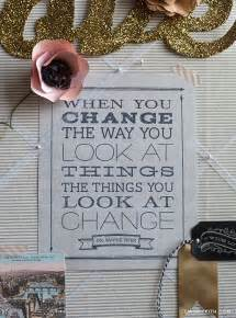 Free Printable Quote Change