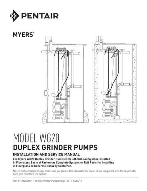 myers submersible wiring diagram myers 3 4 hp