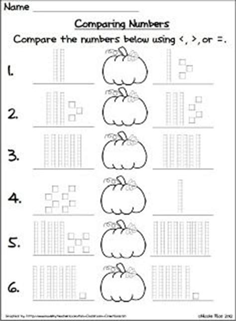 comparing numbers coloring page base ten blocks and comparing numbers freebie