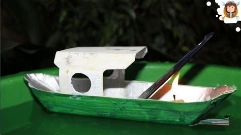 barco de vapor motor como fazer um barco a vapor materiais reciclados