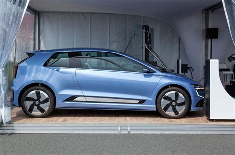 Volkswagen E Golf 2020 by Volkswagen E Shows Design Direction Of 2020 Golf Autocar
